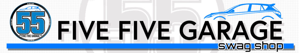 Five Five Garage Swag Shop logo