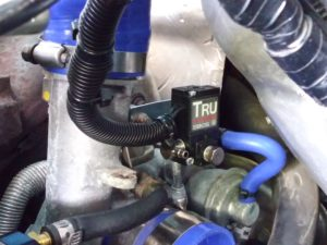 EBCS with wastegate actuator hose connected