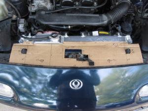 V2 Cardboard Prototype on car